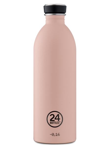 24BOTTLES Urban Bottle 1,0 Liter dusty pink