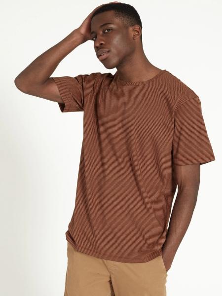 RECOLUTION T-Shirt Pandan dark orange/black