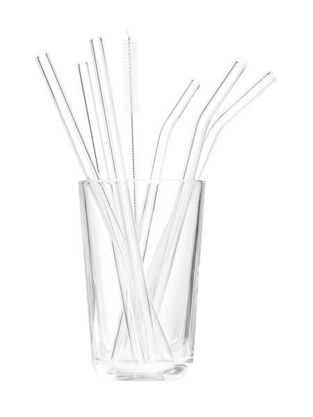 TRANQUILLO Strohhalm 6er Set Glas
