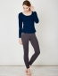 THOUGHT Longsleeve Bamboo Basic indigo 2