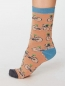 THOUGHT Socks Bicycle peach 2