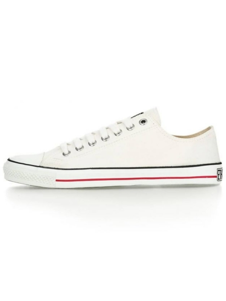ETHLETIC Fair Trainer Lo Cut Classic just white / just white 1