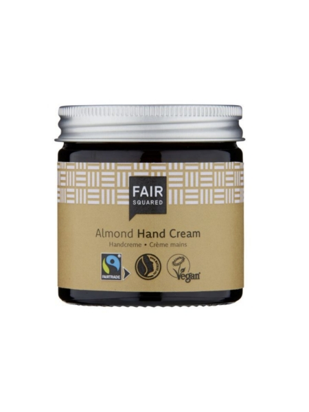 FAIR SQUARED Hand Cream Almond 50 ml (13,90 €/100 ml)