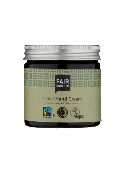 FAIR SQUARED Hand Cream Olive 50 ml (13,90 €/100 ml)