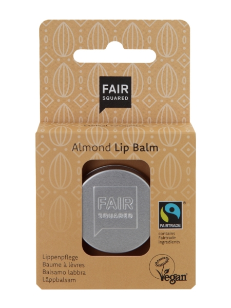 FAIR SQUARED Lip Balm Almond 12 g (49,58 €/100 g)
