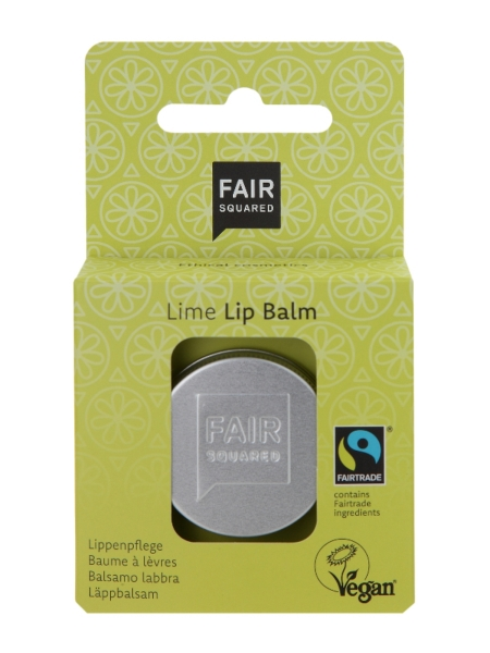 FAIR SQUARED Lip Balm Lime Fresh 12 g (49,58 €/100 g)