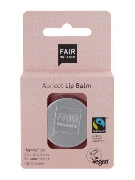 FAIR SQUARED Lip Balm Sensitive Apricot 12 g (49,58 €/100 g)