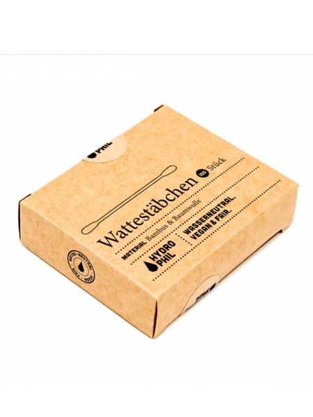 Better2gether Hydrophil Wattestabchen Bambus Baumwolle 100 Stuck