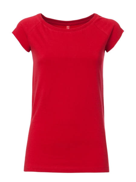 THOKKTHOKK T-Shirt Capsleeve Basic red