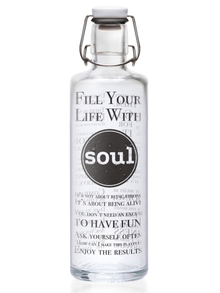 SOULBOTTLES Fill your Life with Soul 1,0 Liter