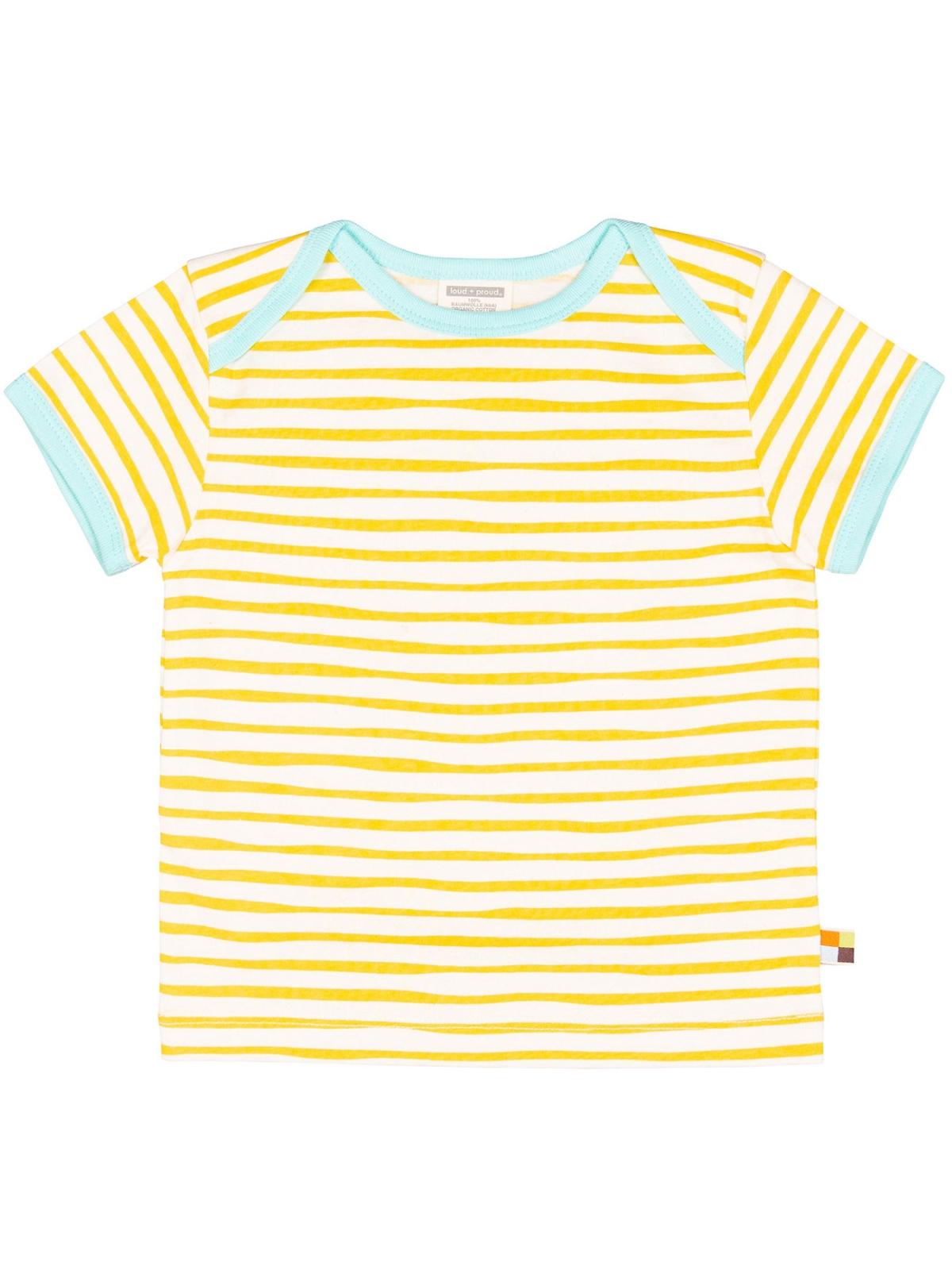e198abf1a better2gether - LOUD + PROUD T-Shirt Kurzarm Streifen honey