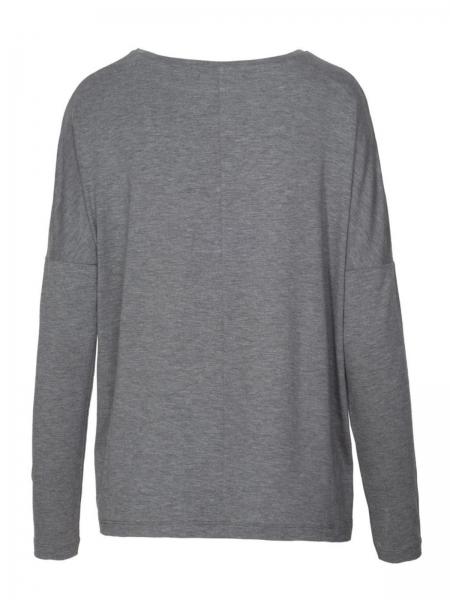 loud proud Shirt Langarm Pullover Olive geringelt