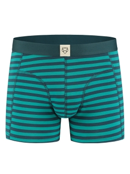 A-DAM Boxerbrief Boris Stripes teal