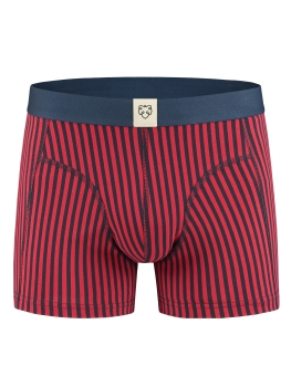 A-DAM Boxerbrief Robin Stripes red