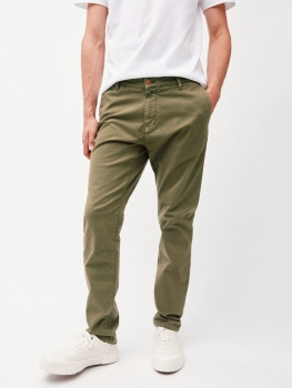 ARMEDANGELS Hose Chino Aato military green