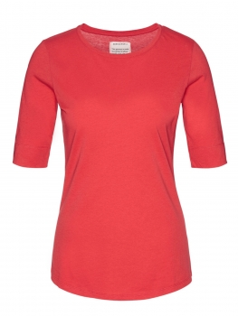 ARMEDANGELS T-Shirt Janna apple red