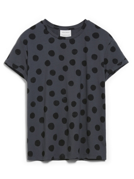 ARMEDANGELS T-Shirt Naalina Big Dots anthrazit