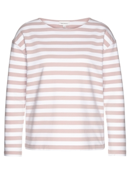 ARMEDANGELS Sweatshirt Noaa Bold Stripes blush