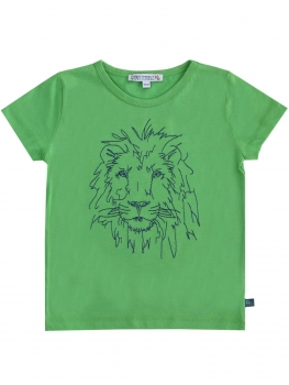 ENFANT TERRIBLE T-Shirt Löwe green