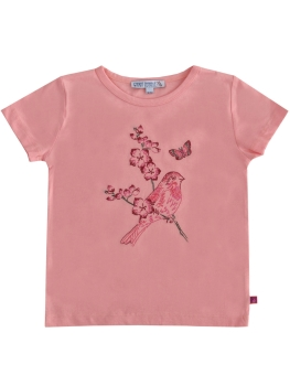 ENFANT TERRIBLE T-Shirt Vogel flamingo