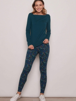 TRANQUILLO Leggings Meduna flower