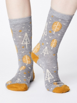 THOUGHT Socks Erskie grey marle